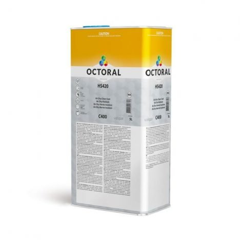 C400 HS420 Air Dry Clear Coat 5ltr