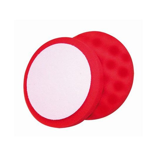 Soft Waffle Polishing Foam Red 150mm