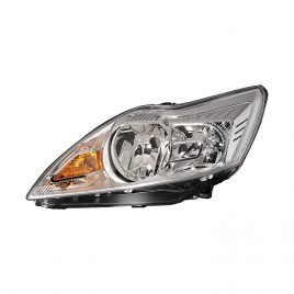 Ford Focus  Mk4 01/2008>2011 Headlight H1/H7 Chrome