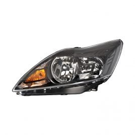 Ford Focus  Mk4 01/2008>2011 Headlight H1/H7 Black