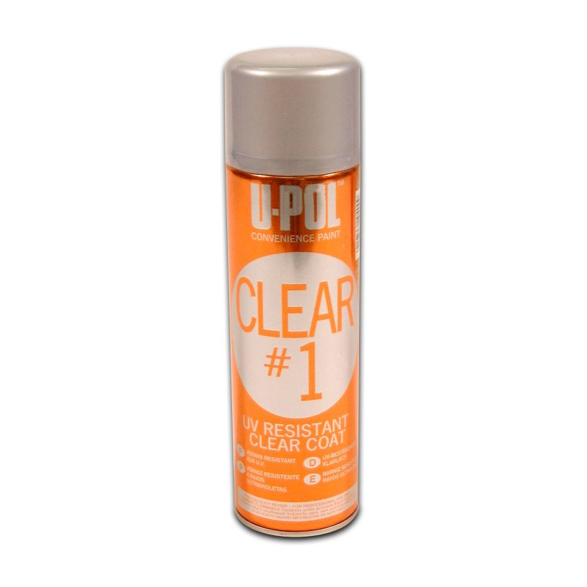 CLEAR#1 UV Resistant High Gloss Clear Coat Aerosol 450ml