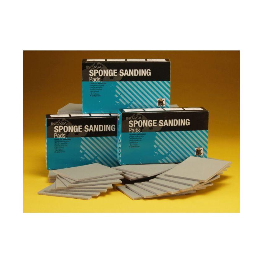 Sponge Sanding Pads 115mm x 140mm (20)