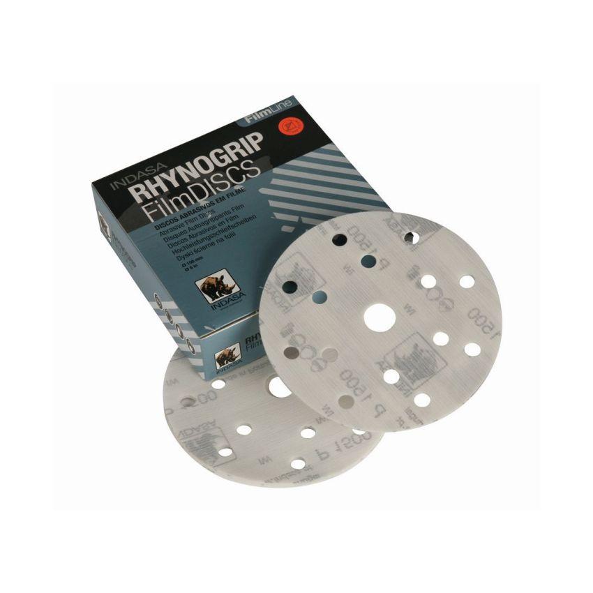 Rhynogrip Discs - FilmLine 150mm 15 Hole (50)