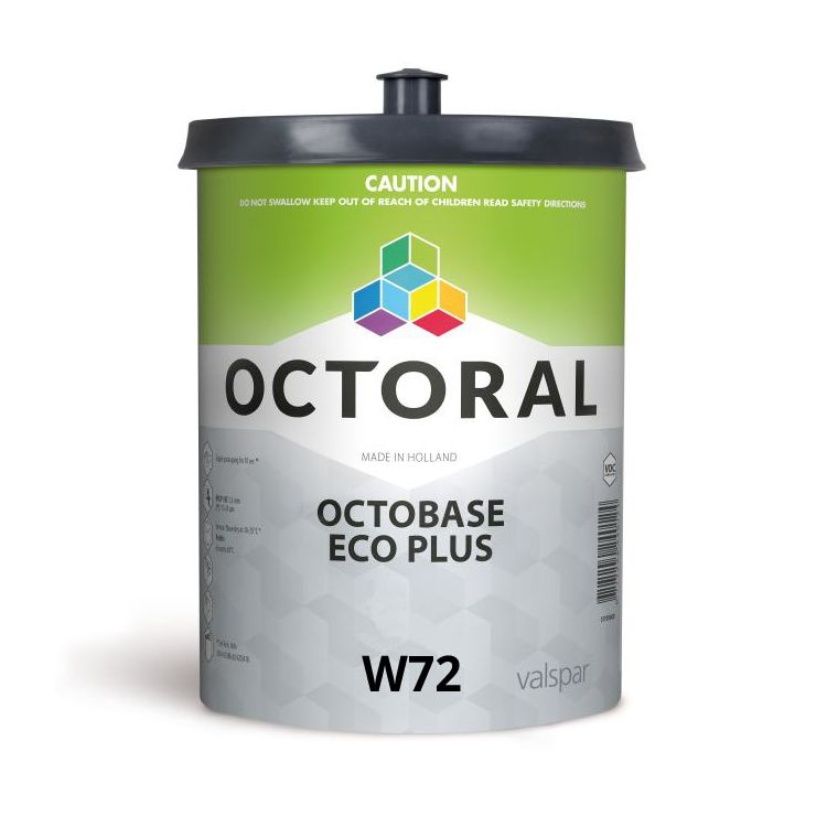 Octobase Eco Plus W72 Transparent Brown Oxide 500ml
