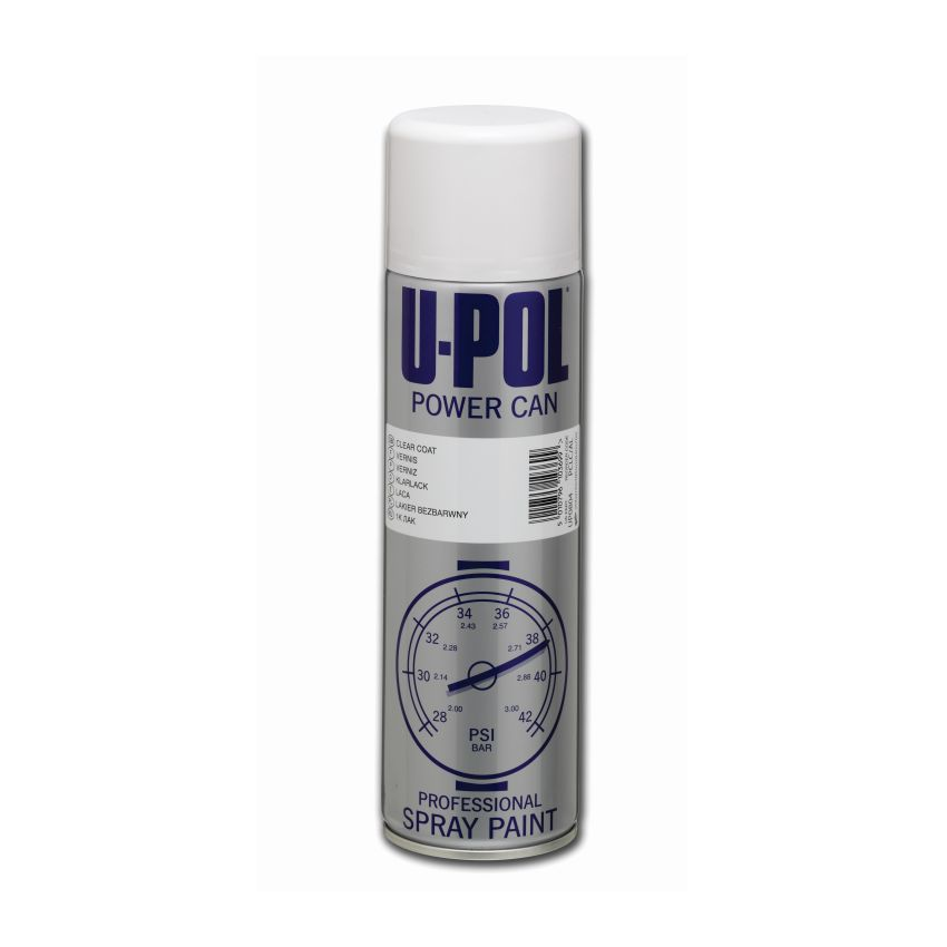 POWER CAN Clear Coat Aerosol 500ml