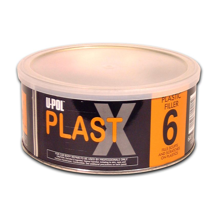 PLAST X Smooth High Adhesion Body Filler For Plastics 600ml