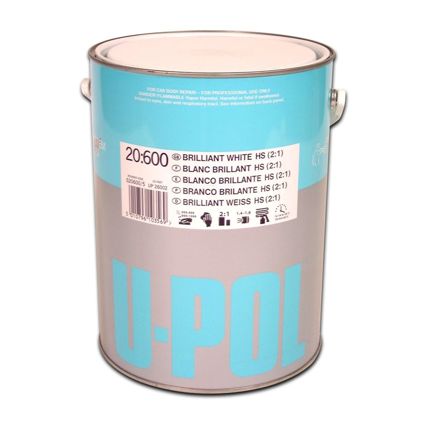 S20600 2K HS Acrylic Solid Colour (2:1) 5ltr