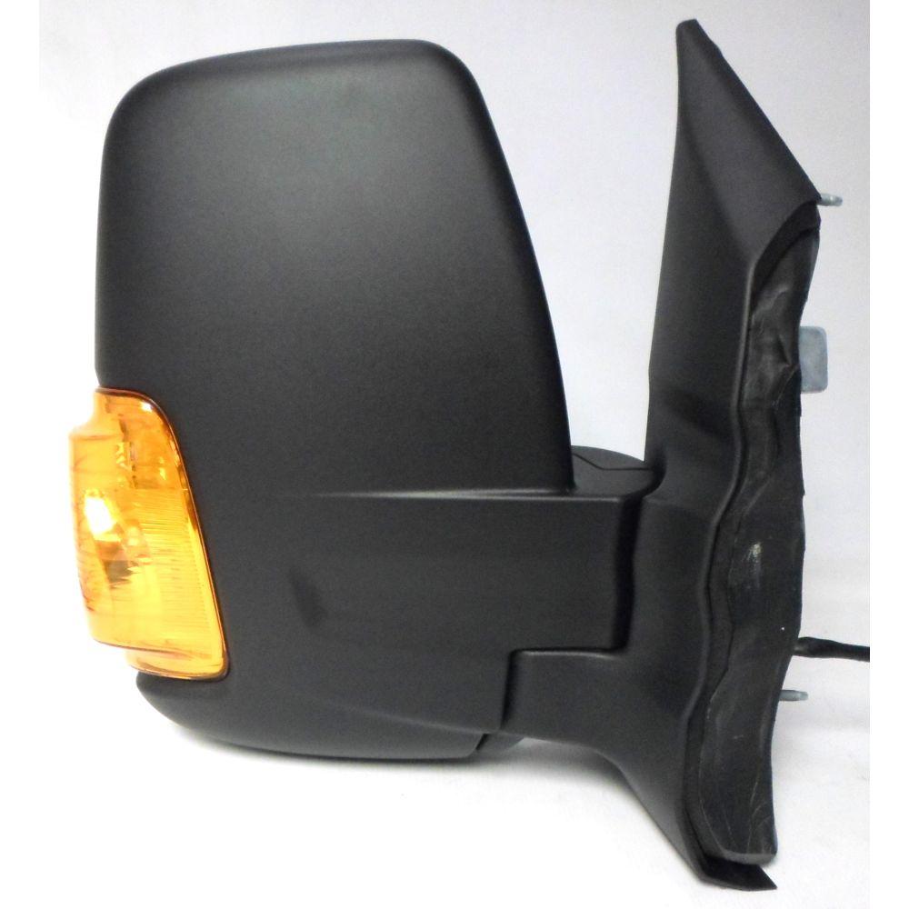 Ford Transit 3/2014> Short Arm Manual Black Amber Indicator