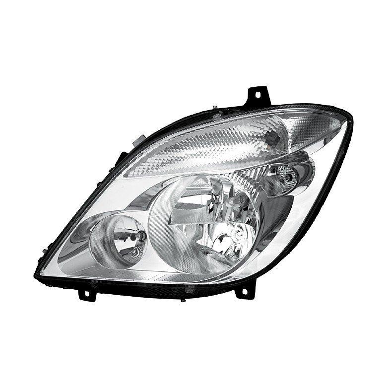 Mercedes-Benz Sprinter Mk4 2006> Headlamp Without Foglight