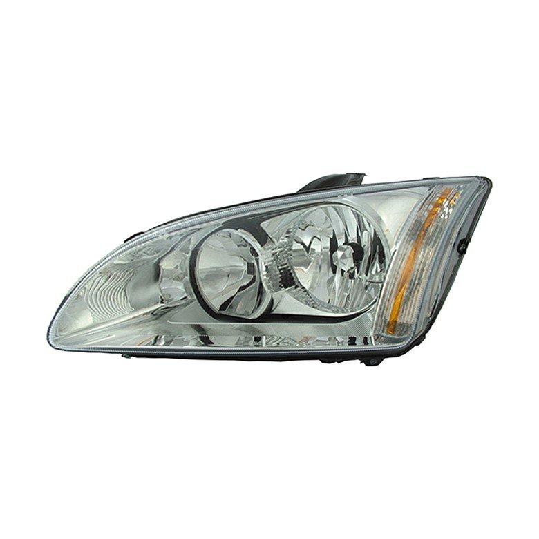 Ford Focus  Mk3 07/2004>2008 Headlight Elec Standard Chrome Inner