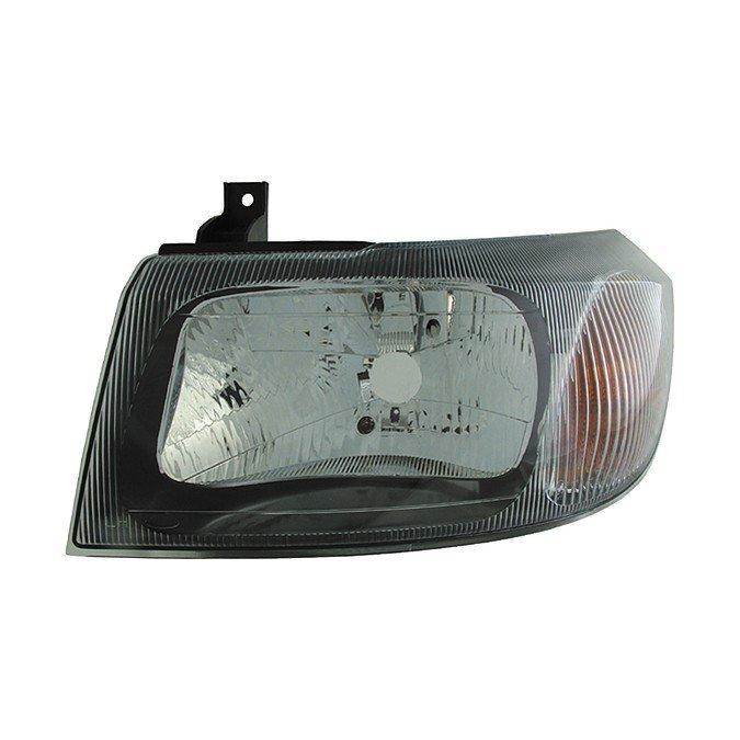 Ford Transit Mk6 2000> Headlight Black Bezel