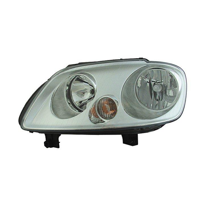 Volkswagen Caddy 09/2003> 08/2010 Headlight (Chrome Mask)