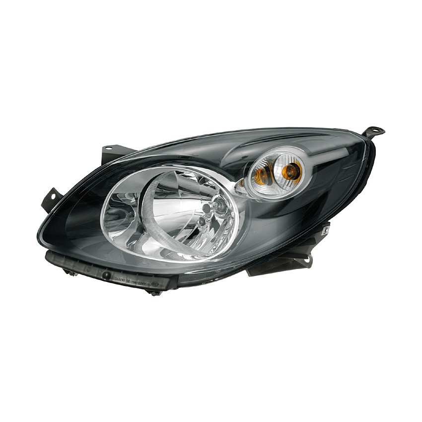 Renault Twingo (CN0_) 03/2007> Headlight H4 (Black)