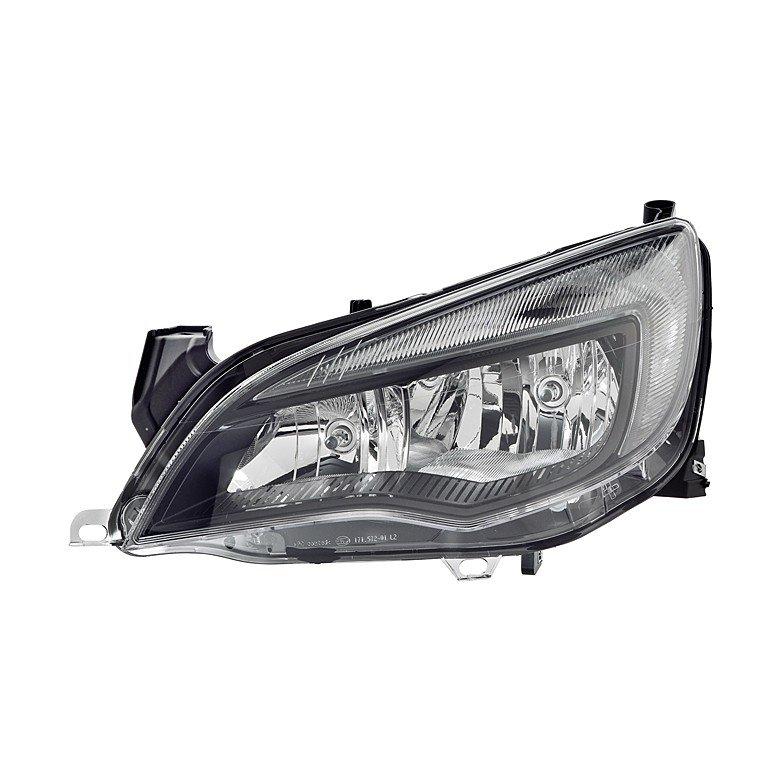 Vauxhall Astra J Mk6 2012>2015 Headlight H7+H7 With DRL (Black Mask)