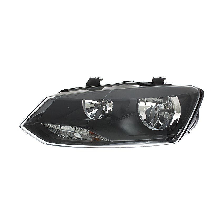 Volkswagen Polo Mk9 2014> Headlight H7 + H7 Black Bezel GTI