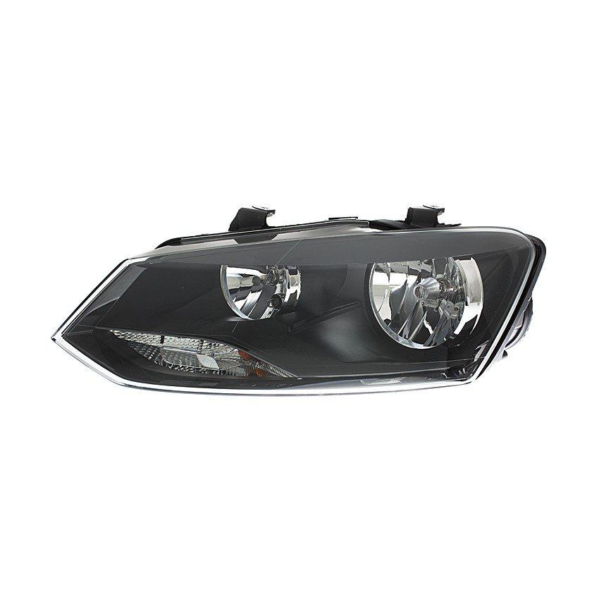 Volkswagen Polo Mk9 2014> Headlight H7 + H7 Black Bezel GTI